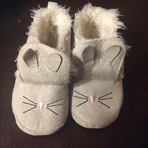Baby gap bunny booties